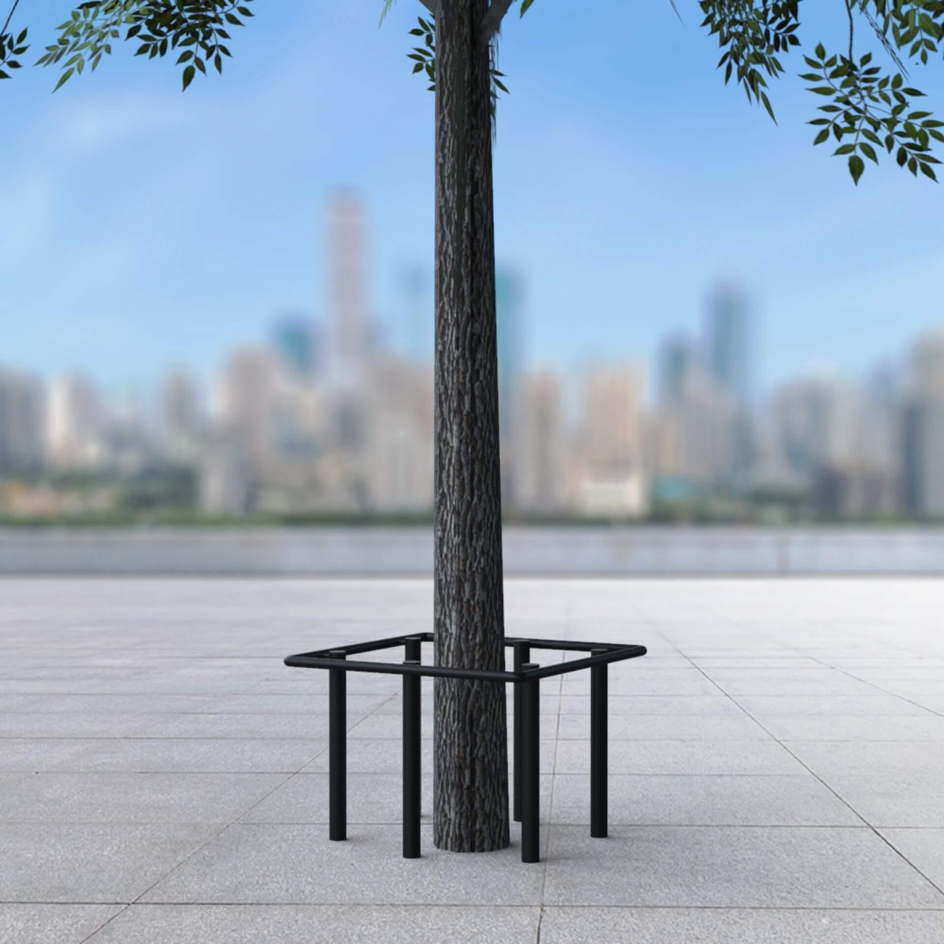 מגן עצים דגם רקפת