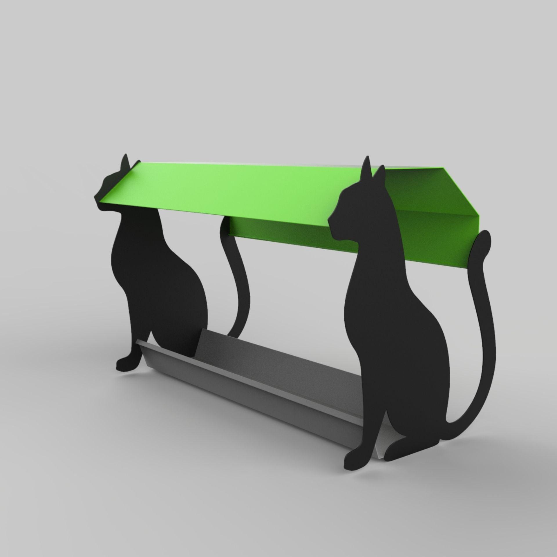 מתקן האכלה דגם חתול