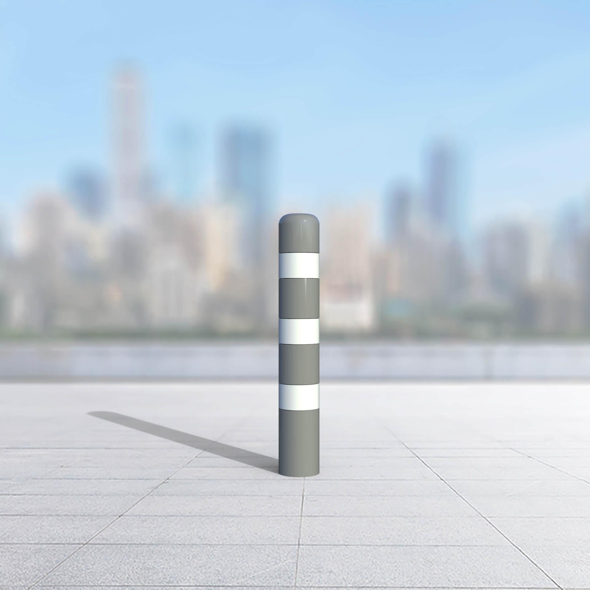 עמוד עיגון תחנת אוטובוס 6